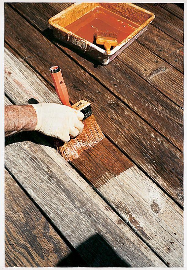 How To Repair Weather Beaten Deck Boards Diy Deck Building A Deck Deck Design