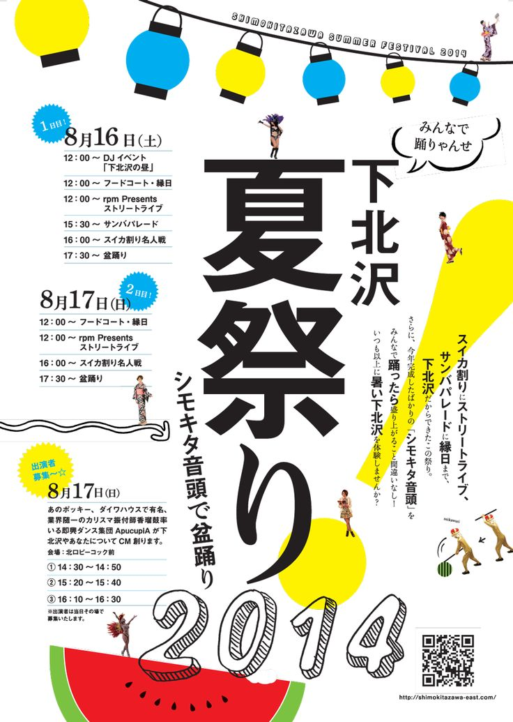 下北沢夏祭り2014