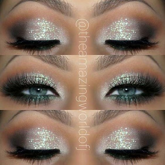 How to Rock New Year's Eve Eye Makeup