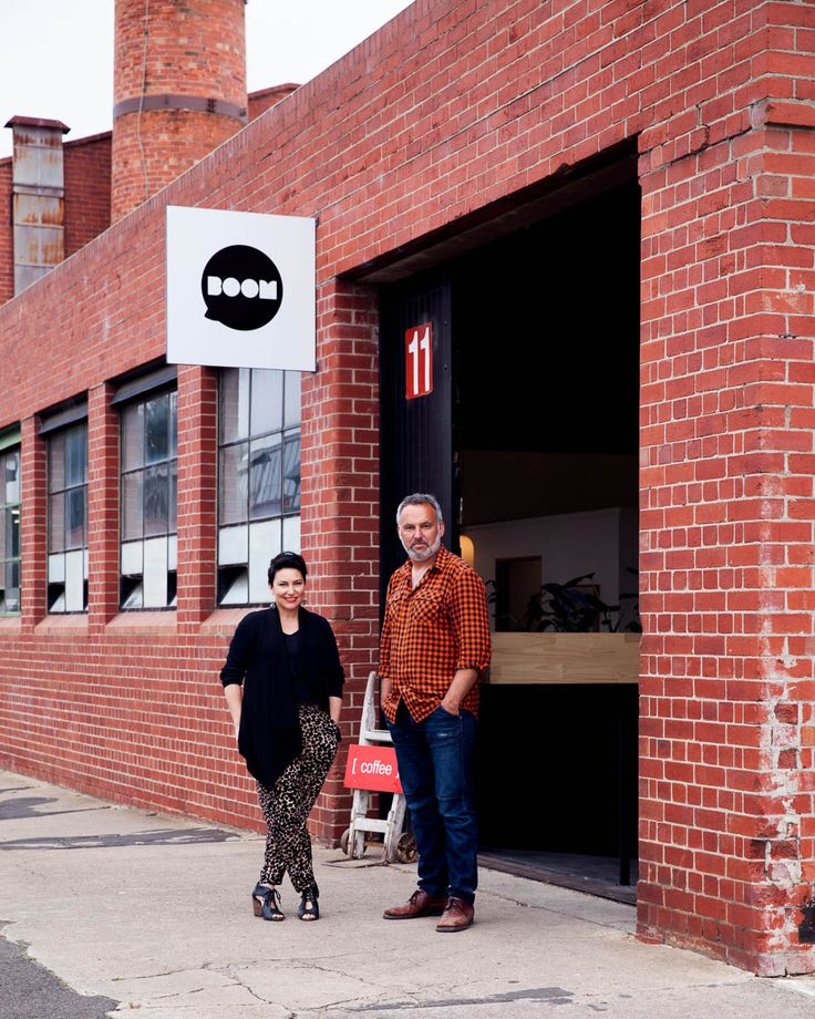 Kate Jacoby and Ren Inei of Boom Gallery, Geelong - Return Of The Road Trip