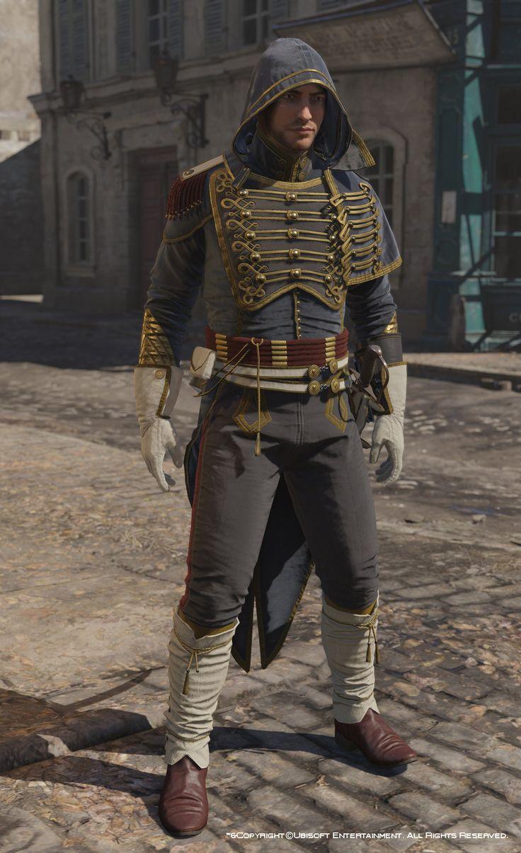 ArtStation - Assassin's Creed Unity, Avatar Napoleonian ...