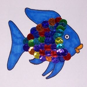 fish craft ideas 1000 ideas about rainbow fish template on the 2023