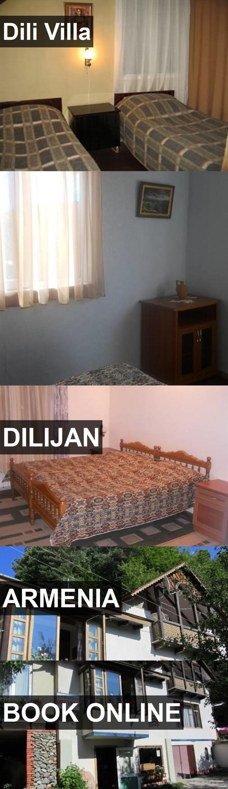 Hotel Dili Villa in Dilijan, Armenia. For more information, photos, reviews and best prices please follow the link. #Armenia #Dilijan #travel #vacation #hotel