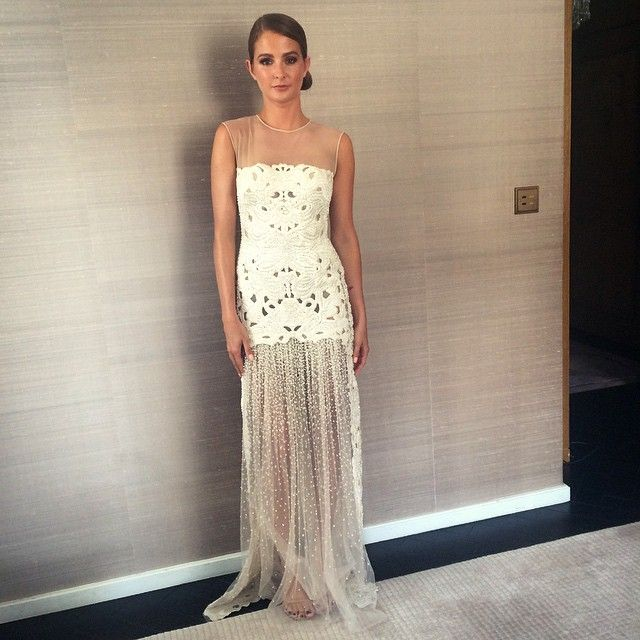 Millie Macintosh's dress from the baftas, beautiful. I want it.