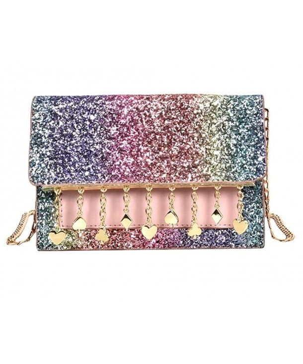 1134bfaf51b Women's Bags, Crossbody Bags,Sequin Clutch Purses for Women Glitter Wallet  with Strap Shoulder Bag - Rainbow - CT18DXYO27Q #BAGS #Handbags #women  #style ...