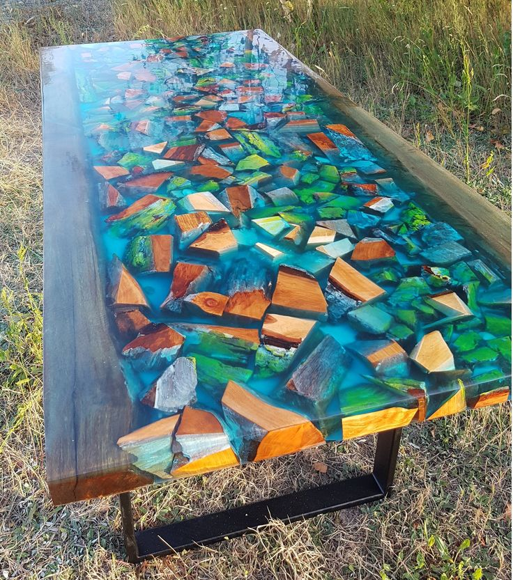 Table epoxy River Deep
