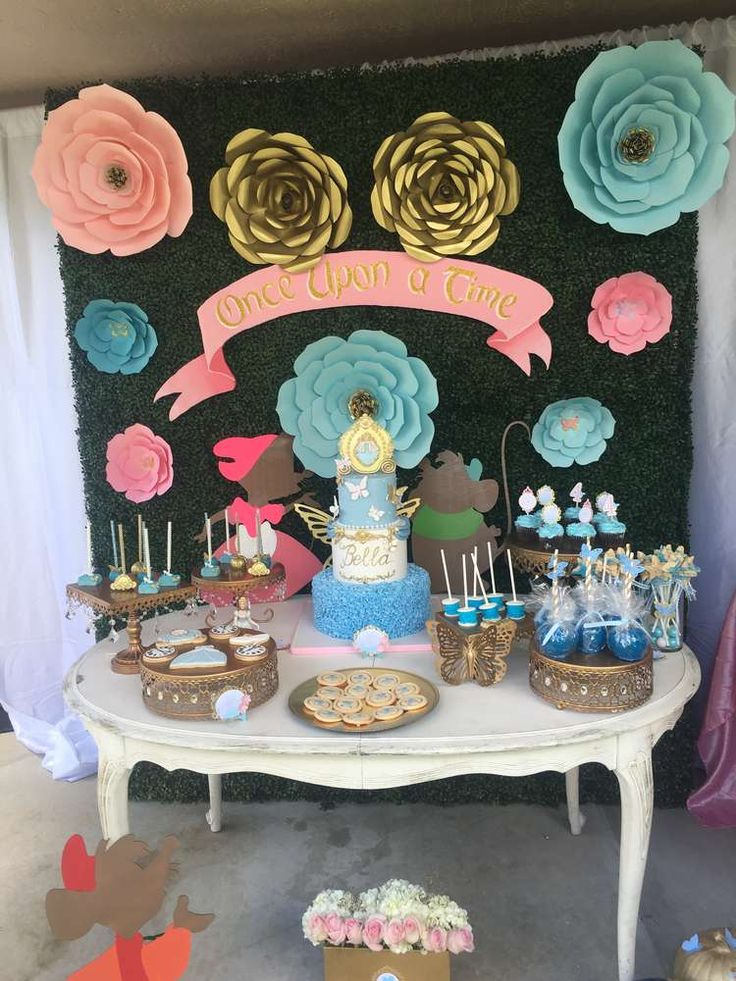Gorgeous Cinderella Birthday Party See More Party Ideas At Catchmyparty Com