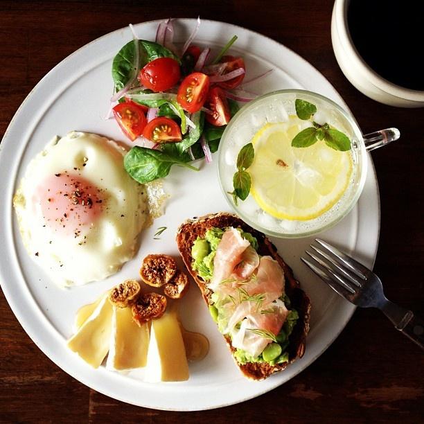 Today's breakfast. - @keiyamazaki- #webstagram
