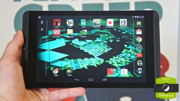 Nvidia Shield Tablet, rajouté par Ulrich Rozier