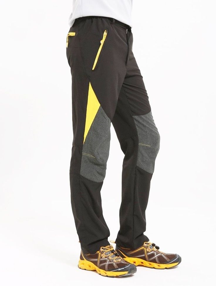 Classic Fit Mens Running Hiking Tights Men's Athletic Pants Nylon Sweatpants XL #MensAthleticPants #AthleticApparel