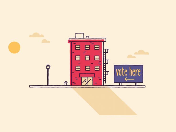 Hi Dribbble! Here's a sample from a soon to be released video for a client who encourages people to vote. Had lots of fun with design, color and MORPHS!