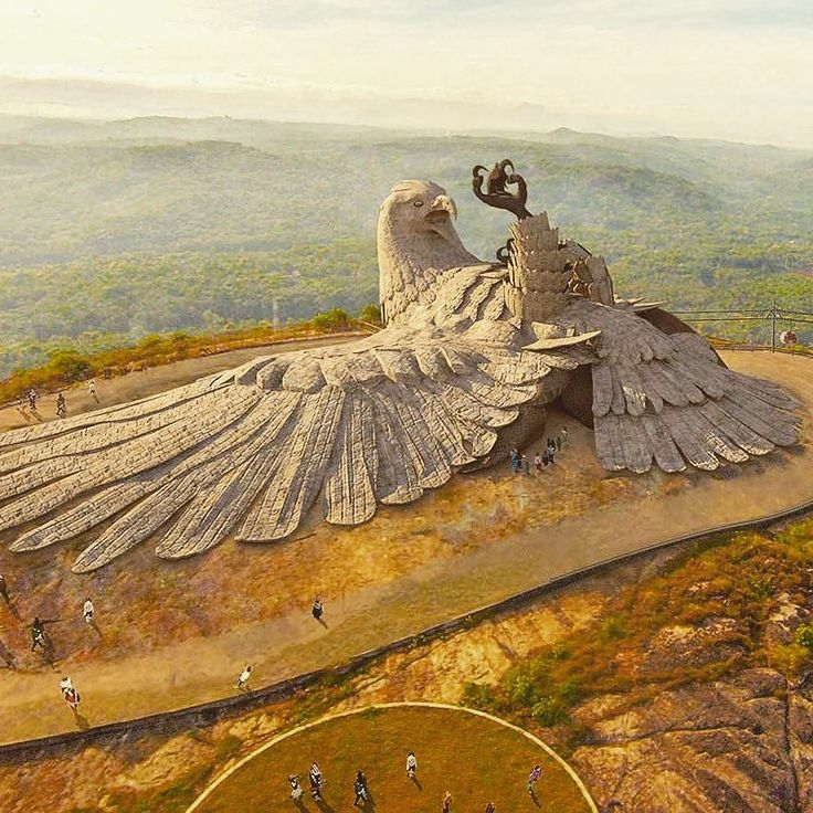 Jatayu Nature Park Now Open For Public The World S Largest Bird