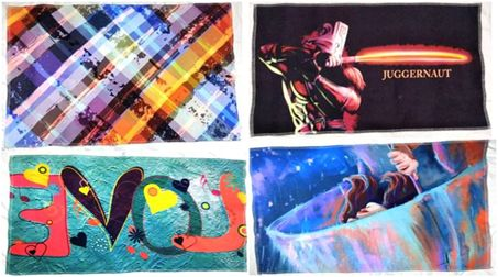 Digital Printed Polyester mat with anti slip TPR backing Stock Offer#             :2330 Color              :Asper required print. Goods in fabri form  Size                  : Any size maximum width 1.25 meters Quality            : Polyester Quantity         :  We have approx 10000 Sq mtr in stcok  http://www.textilestock.in/productdetail/4491/Home%20Furnishing%20Made%20Ups%20-Rubber%20and%20coir%20door%20mats-DigitalPrintedPolyestermatwithantislipTPRbackingStock.html
