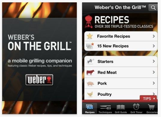 Webers Grilling App