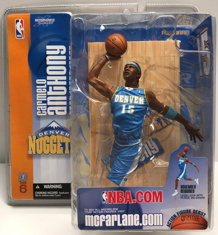 We always have the hottest Vintage Toys at The Angry Spider.  Now available: TAS038632 - 2004 ...  Check it out here: http://theangryspider.com/products/tas038632-2004-mcfarlane-toys-nba-denver-nuggets-carmelo-anthony?utm_campaign=social_autopilot&utm_source=pin&utm_medium=pin