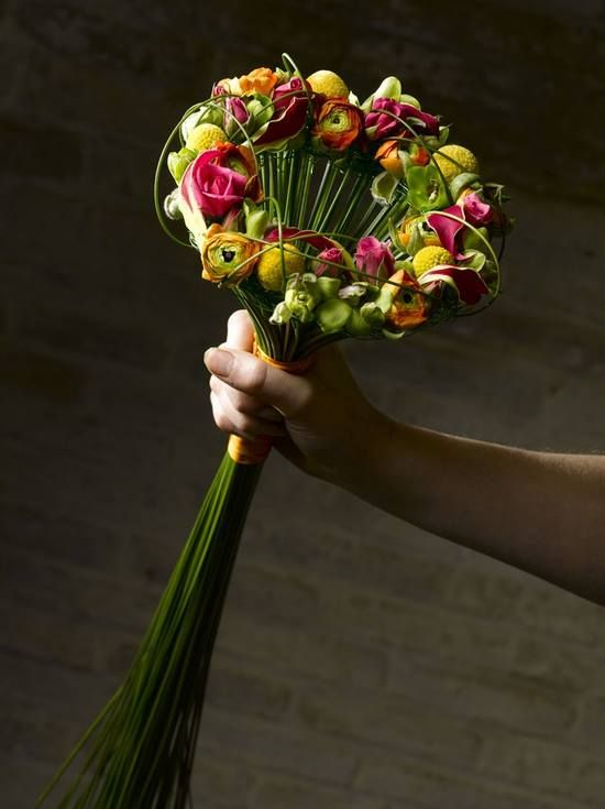 Alternative Artsy Artistic Bouquet Floral Arrangement