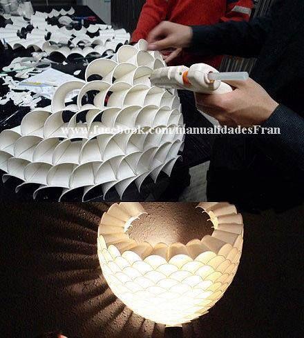 lampara reciclada