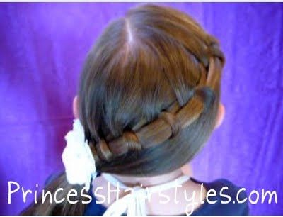 spiral french braid tutorial