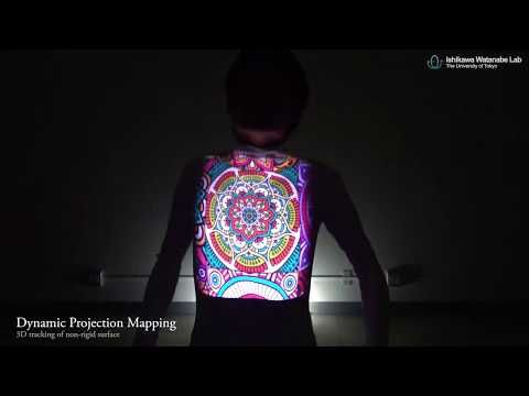 DynaFlash v2 dynamic projection mapping | ATTTAACKr | Video lighting on