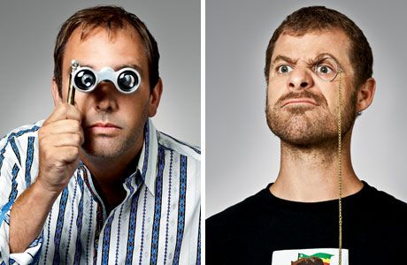 Trey Parker and Matt Stone: Creators of South Park - vulgar, irreverent, downright insulting and pure genius