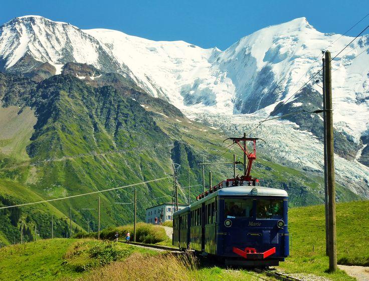 Spectaculaire treinritten die je eens moet maken in de Franse Alpen / Tramway du Mont-Blanc, French Alps
