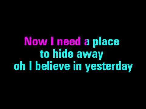 Yesterday Karaoke The Beatles - You Sing the Hits - YouTube