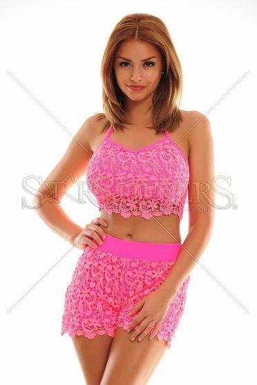 MissQ Gorgeous Fit Pink Set