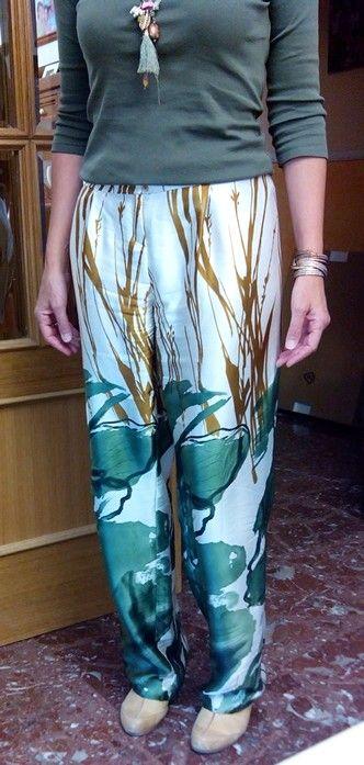 Pantalon seda 2014