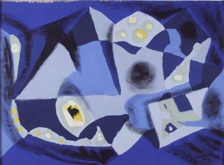 Untitled, 1942, gouache Borduas