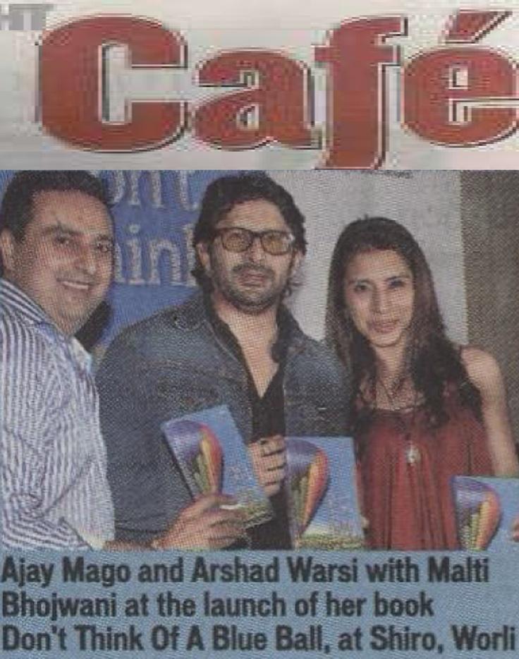 Malti Bhojwani's book Launch at Shiro, Mumbai!