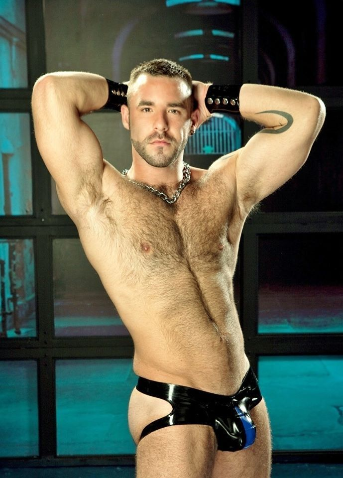 Male underwear latex
