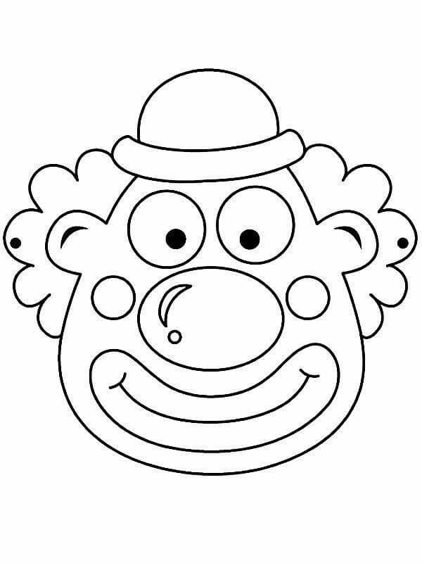 Pin Von Gladys Auf Alarcok Clown Basteln Vorlage Karneval Basteln Clown Basteln
