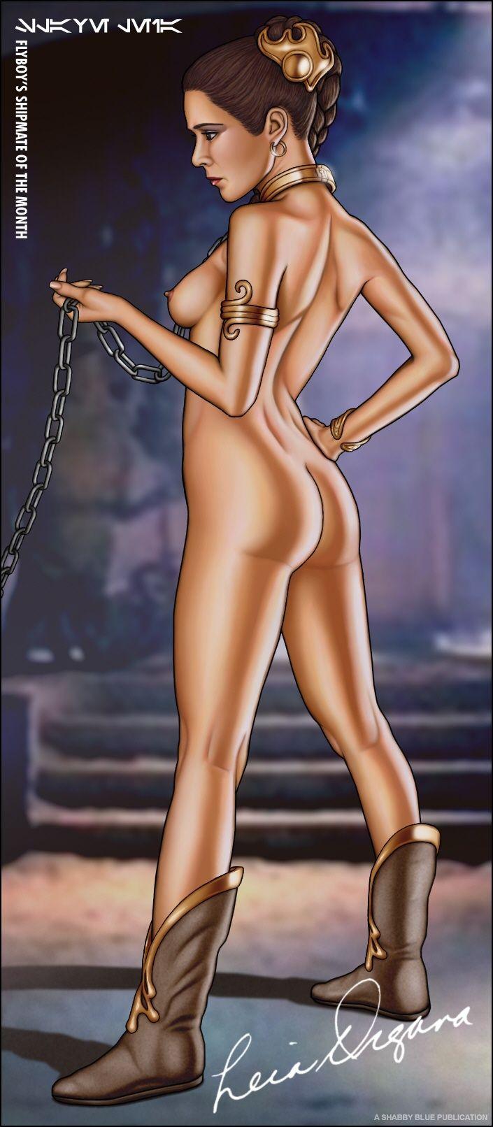 Leia Slave Nude 11