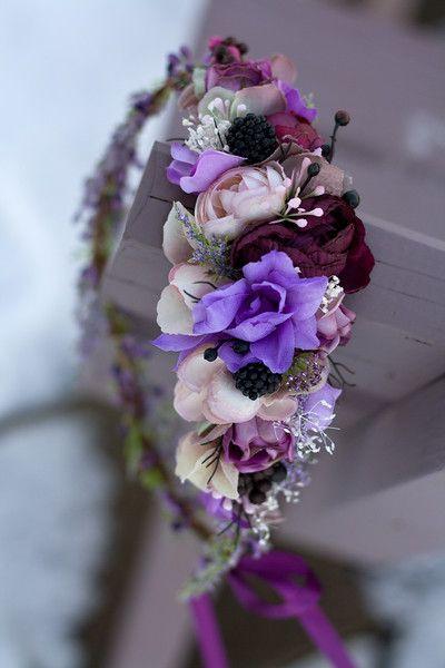 Corona de flores size uni