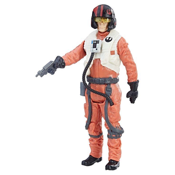 Star Wars Poe Dameron (Resistance Pilot) Force Link Action Figure