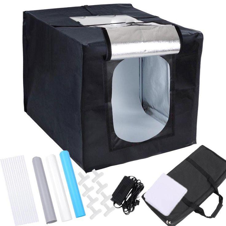 """24"""" Photo Tent Box LED Light Kit Studio Product Photography Kit"""