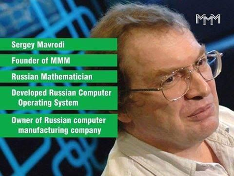 Thank you Sergey Mavrodi for the best opportunity ever! http://mmmhelpinghands.wix.com/mmmglobal
