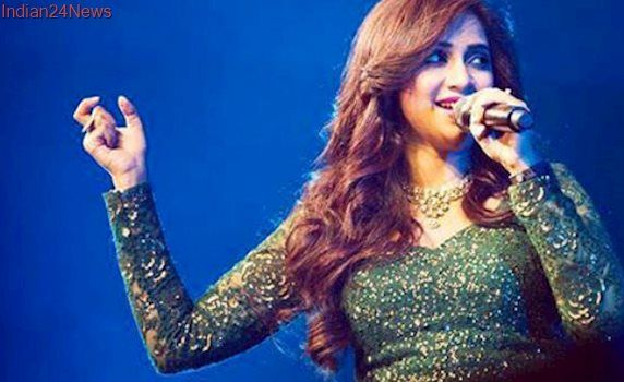 Shreya Ghoshal To Get Wax Statue At Madame Tussauds, Delhi  My favourite...pretty girl with pretty pretty voice. .!!!!!
