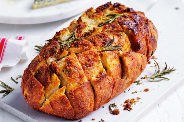 Rosemary and brown sugar butter glazed bread main image