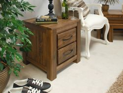 Mayan Walnut Two Drawer Lamp Table http://solidwoodfurniture.co/product-details-pine-furnitures-3000-mayan-walnut-two-drawer-lamp-table.html
