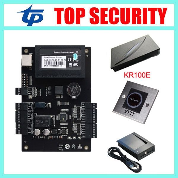 110.40$  Buy now - http://alido3.worldwells.pw/go.php?t=32519310594 - One door access control board access control panel access controller TCP/IP weigand card reader zk door control system