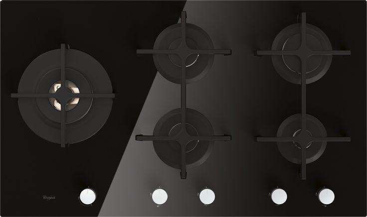 DAPHNE KEUZE 3 545,- Whirlpool GOA9523NB Inbouw Gas op Glas      Aantal gasbranders 5     Commerciële maat 86 cm     Kleur Zwart