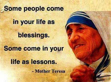 ~ Life Lessons From A Blind Blogger ~  #MotherTeresa #quotations #quotes