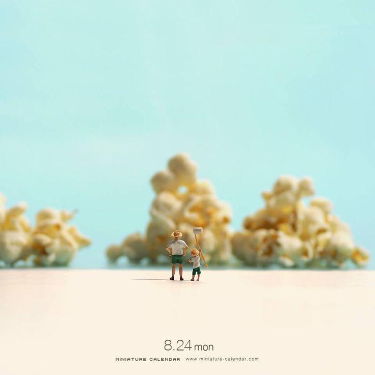 Miniature Calendar: