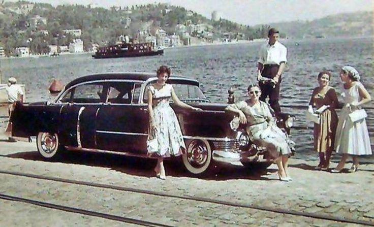 Arnavutköy-Akıntıburnu 1950 ler/ İstanbul