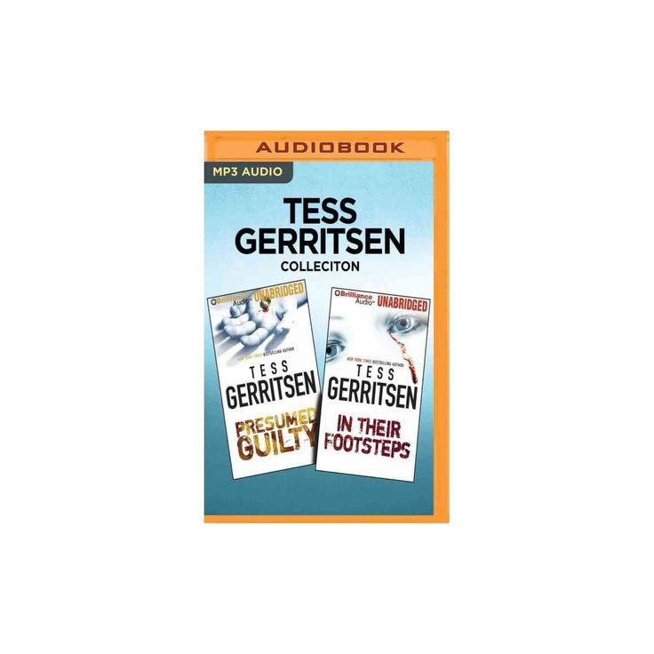 Presumed Guilty \/ In Their Footsteps (MP3-CD) (Tess Gerritsen) - presumed guilty tess gerritsen