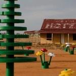 Árvores e flores na Austrália totalmente feitas de Lego