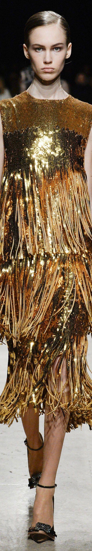 Rochas - Fall 2017 RTW #Metallics-Gold,Silver,Bronzeetc