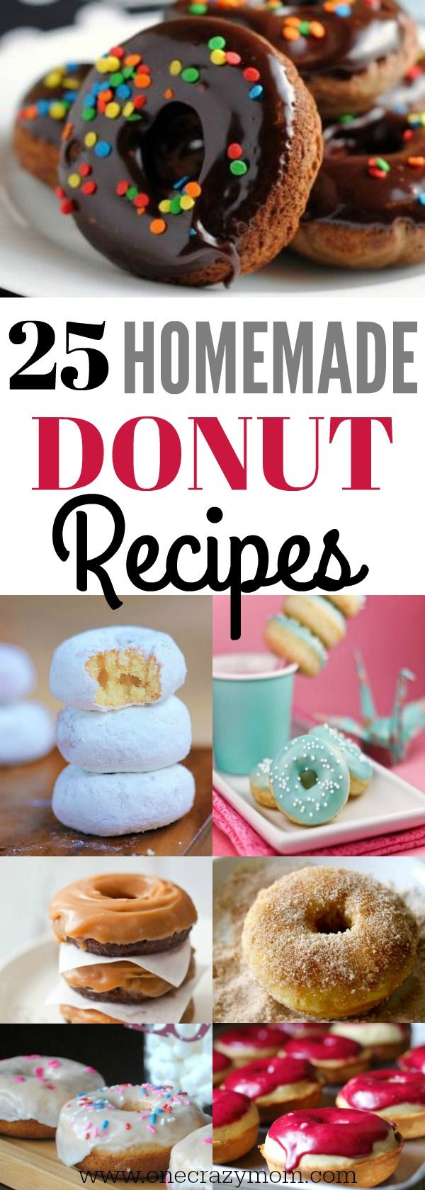 Try these mouthwatering homemade donuts.25 simple doughnut recipes you will love. Homemade donut recipes are so much better.Try these easy donut recipes.