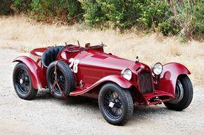 Alfa Romeo 8C 2300 Monza 1933 (© Gooding & Co)
